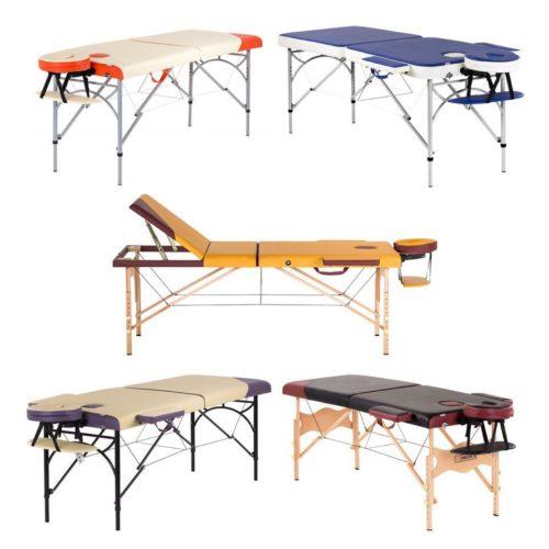 Массажные столы и валики