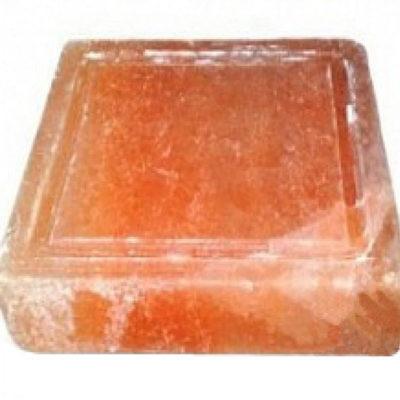 Соляная плитка для жарки с бордюром 4 х 20 x 20 см