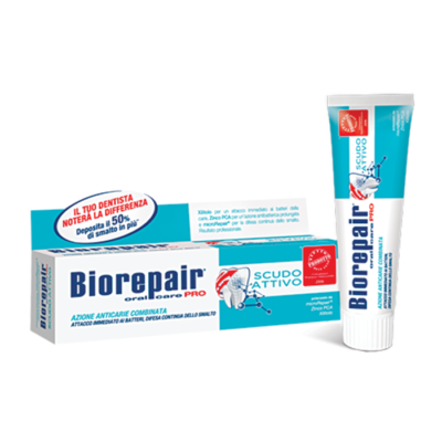 Зубная паста для активной защиты эмали BioRepair PRO Active Shield 75мл, арт.GA11842