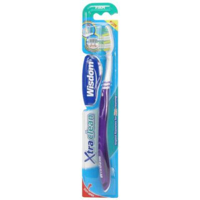 Зубная щетка Wisdom Xtra Clean Firm щетина под разным углом к основанию, жестк. арт.2362 1
