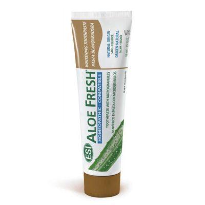 Отбеливающая зубная паста Aloe Fresh Whitening гелевая 100мл, aрт.0634