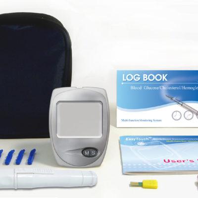 Анализатор биохимический глюкозы, холестерина и гемоглобина Easy Touch GCHb.