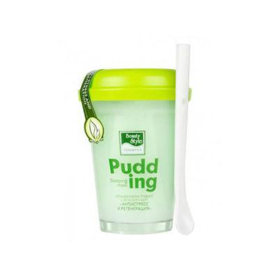 Маска-пудинг ночная с зеленым чаем