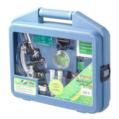 Микроскоп Микромед в кейсе 100х-900х.