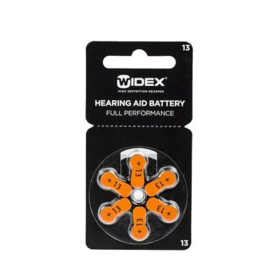 widex battery pack 13