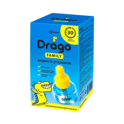 Жидкость от комаров Drago Family 30 мл