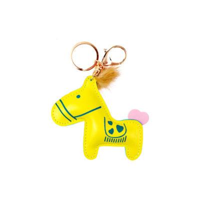 Лошадка желтая