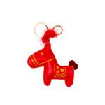 Лошадка красная